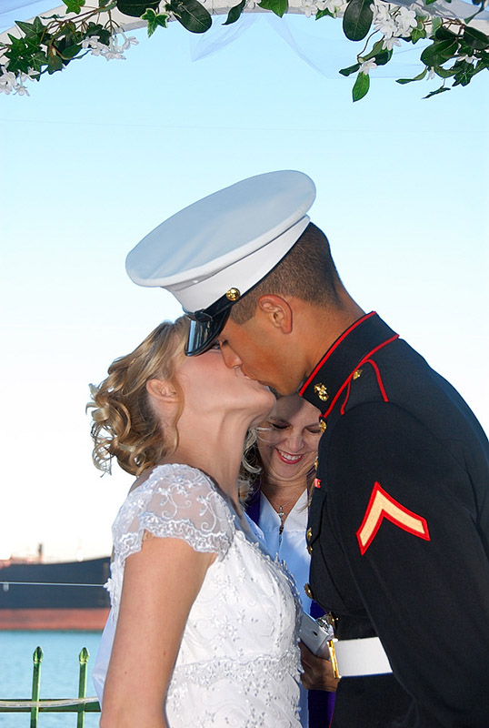 First official kiss!